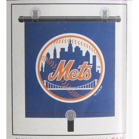 "MLB New York Mets Automotive Window Sun Shade 14"" x 18"" by Topperscot"