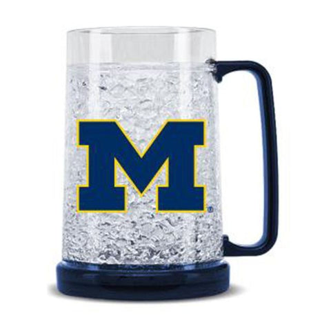 NCAA Michigan Wolverines 16oz Crystal Freezer Mug by Duck House