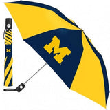 NCAA Travel Umbrella Michigan Wolverines By McArthur For Windcraft