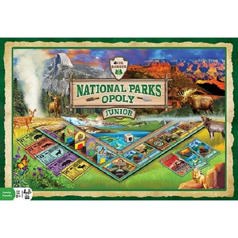 National Parks-opoly (Monopoly) Junior Board Game Masterpieces Puzzles Co.