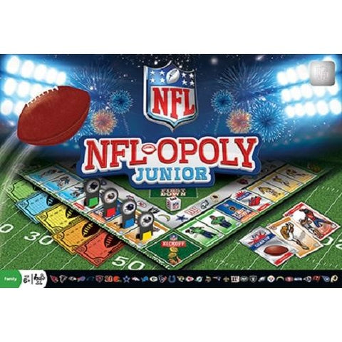 NFL-Opoly (Monopoly) Junior Board Game Masterpieces Puzzles Co.