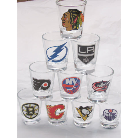 NFL 2 oz Shot Glass with Team Logo by The Memory Company