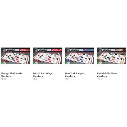 NHL Checkers Game by Masterpieces Puzzles Co.