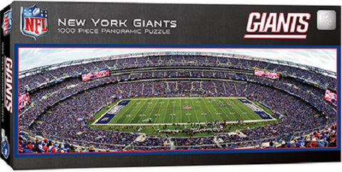 NFL New York Giants 1000pc Puzzle by Masterpieces Puzzles