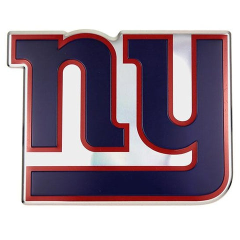 NFL New York Giants 3-D Color Logo Auto Emblem By Team ProMark