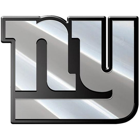NFL New York Giants 3-D Chrome Heavy Metal Emblem By Team ProMark