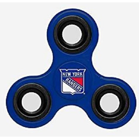 NHL New York Rangers 3-Way Fidget Spinner By Forever Collectibles
