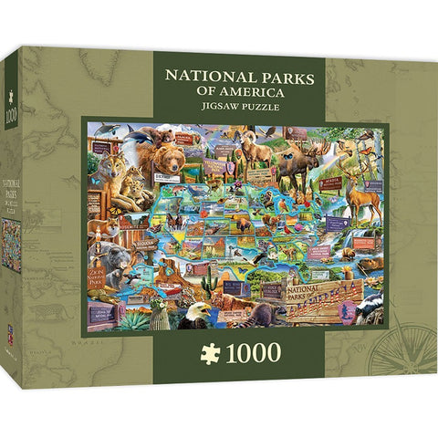 National Parks 1000 pc Jigsaw Puzzle by Masterpieces Puzzles Co