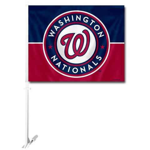 MLB Logo Washington Nationals Window Car Flag RICO or Fremont Die