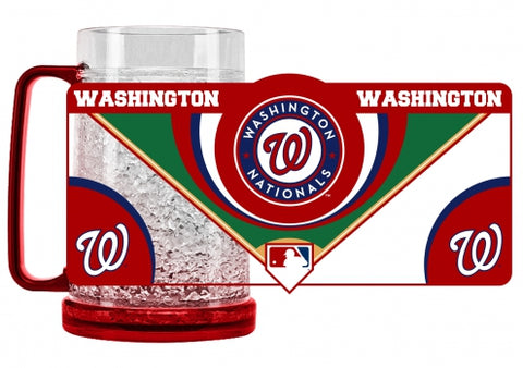 MLB Washington Nationals 16oz Crystal Freezer Mug by Duck House