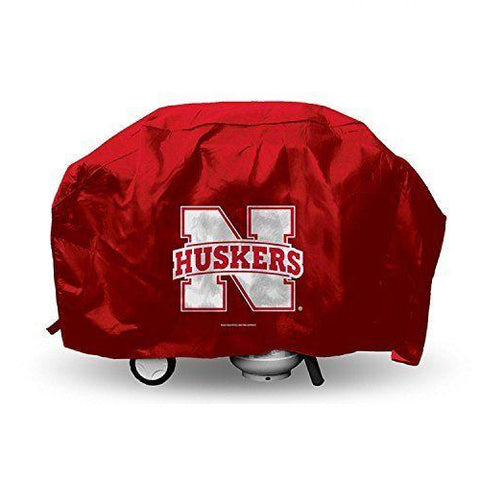 NCAA Nebraska Cornhuskers 68 Inch Vinyl Economy Gas / Charcoal Grill Cover