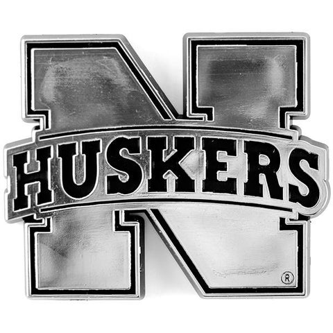 NCAA Nebraska Cornhuskers 3-D Auto Team Chrome Emblem Team ProMark