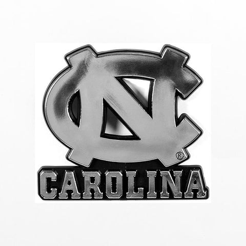 NCAA North Carolina Tar Heels 3-D Auto Team Chrome Emblem Team ProMark