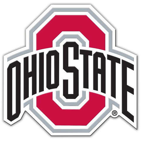 NCAA 12 INCH AUTO MAGNET OHIO STATE BUCKEYES CURRENT LOGO
