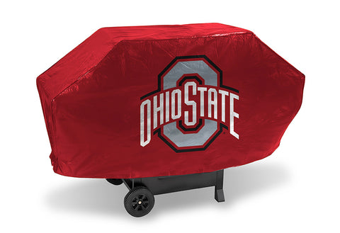 NCAA Ohio State Buckeyes 68 Inch Deluxe Vinyl Padded Grill Cover by Rico Industries