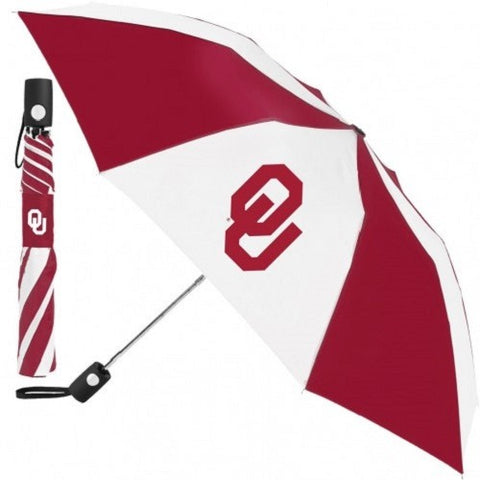 NCAA Travel Umbrella Oklahoma Sooners By McArthur For Windcraft