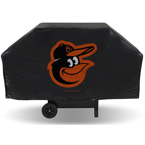 MLB Baltimore Orioles 68 Inch Vinyl Economy Gas / Charcoal Grill Cover
