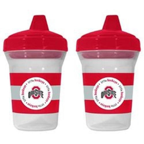 NCAA Ohio State Buckeyes Toddlers Sippy Cup 5 oz. 2-Pack by baby fanatic