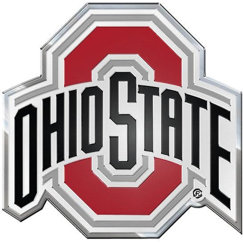 NCAA Ohio State Buckeyes 3-D Color Logo Auto Emblem By Team ProMark