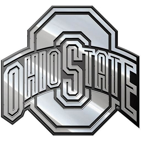 NCAA Ohio State Buckeyes 3-D Chrome Heavy Metal Emblem By Team ProMark