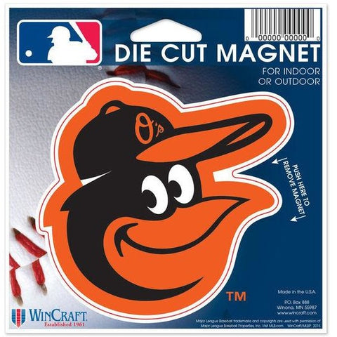 MLB Baltimore Orioles Alt 2 Logo 4 inch Auto Magnet by WinCraft