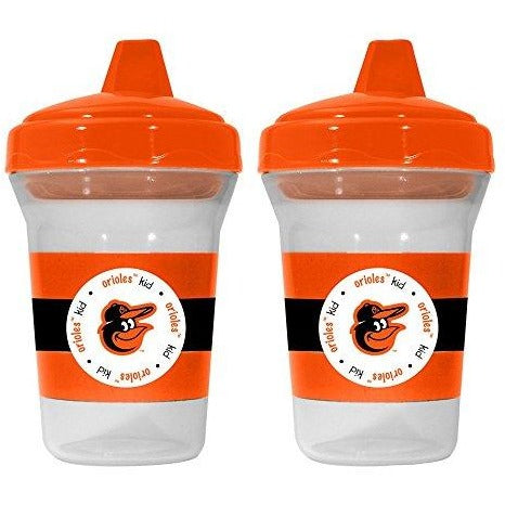MLB Baltimore Orioles Toddlers Sippy Cup 5 oz. 2-Pack by baby fanatic