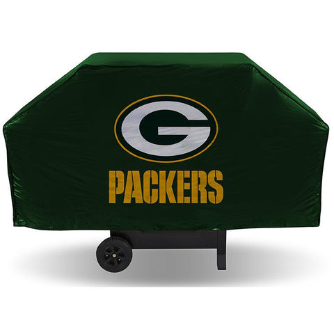 NFL Green Bay Packers 68 Inch Vinyl Economy Gas / Charcoal Grill Cover