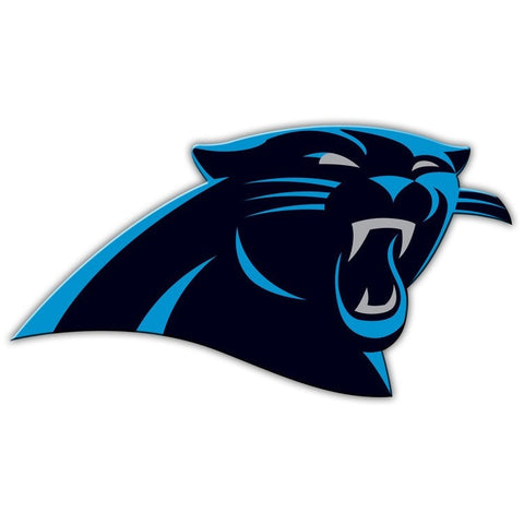 NFL 12 INCH AUTO MAGNET CAROLINA PANTHERS CURRENT LOGO