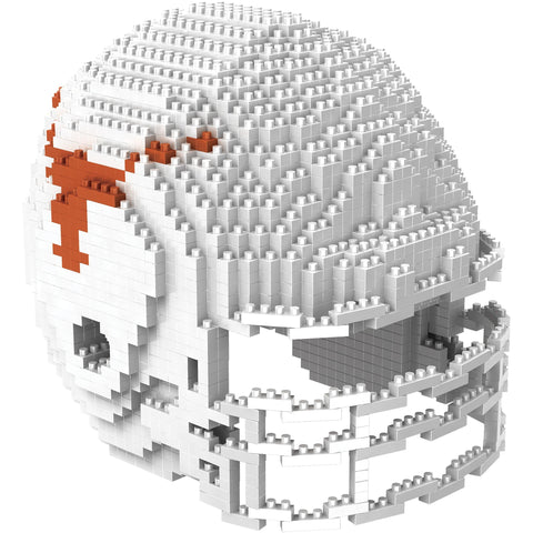 NCAA Texas Longhorns Helmet Shaped BRXLZ 3-D Puzzle 1293 Pieces