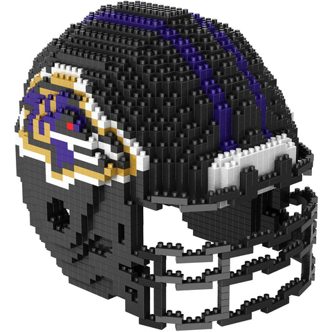 NFL Baltimore Ravens Helmet Shaped BRXLZ 3-D Puzzle 1454 Pieces