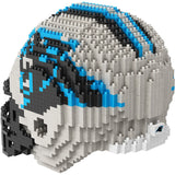 NFL Carolina Panthers Helmet Shaped BRXLZ 3-D Puzzle 1478 Pieces