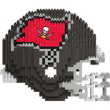 NFL Tampa Bay Buccaneers Helmet Shaped BRXLZ 3-D Puzzle 1525 Pieces