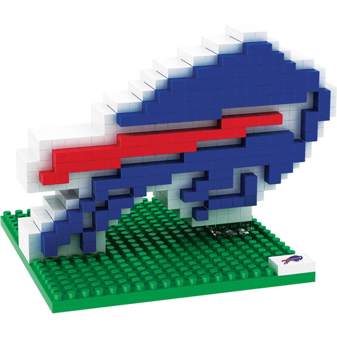NFL Buffalo Bills Team Logo BRXLZ 3-D Puzzle 431 Pieces