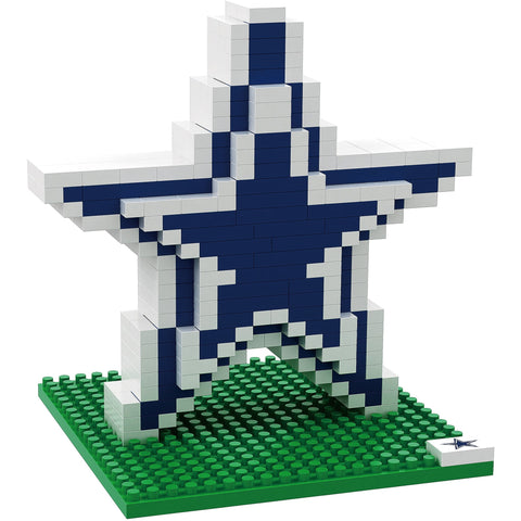 NFL Dallas Cowboys Team Logo BRXLZ 3-D Puzzle 535 Pieces