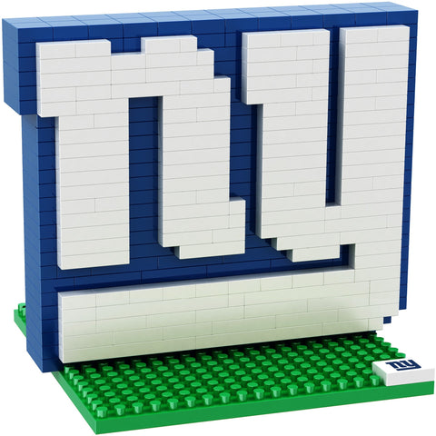 NFL New York Giants Team Logo BRXLZ 3-D Puzzle 414 Pieces