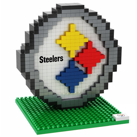 NFL Pittsburgh Steelers Team Logo BRXLZ 3-D Puzzle 420 Pieces