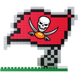 NFL Tampa Bay Buccaneers Team Logo BRXLZ 3-D Puzzle 266 Pieces