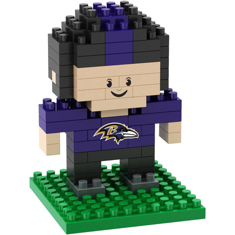 NFL Baltimore Ravens Team Player BRXLZ 3-D Puzzle 89 Pieces