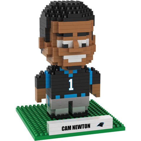 NFL Carolina Panthers Cam Newton #1 BRXLZ 3-D Puzzle 403 Pieces