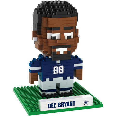 NFL Dallas Cowboys Dez Bryant #88 BRXLZ 3-D Puzzle 408 Pieces