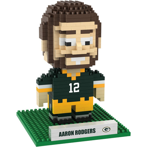 NFL Green Bay Packers Aaron Rodgers #12 BRXLZ 3-D Puzzle 418 Pieces