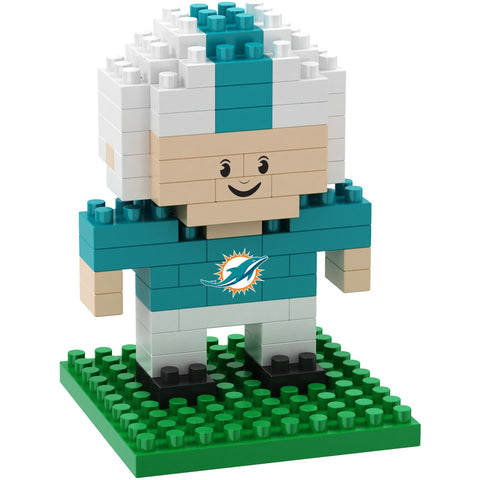 NFL Miami Dolphins Team Player BRXLZ 3-D Puzzle 89 Pieces