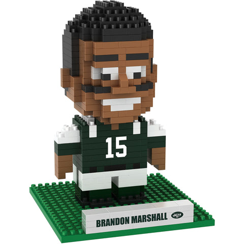 NFL New York Jets Brandon Marshall #15 NFL BRXLZ 3-D Puzzle 417 Pieces