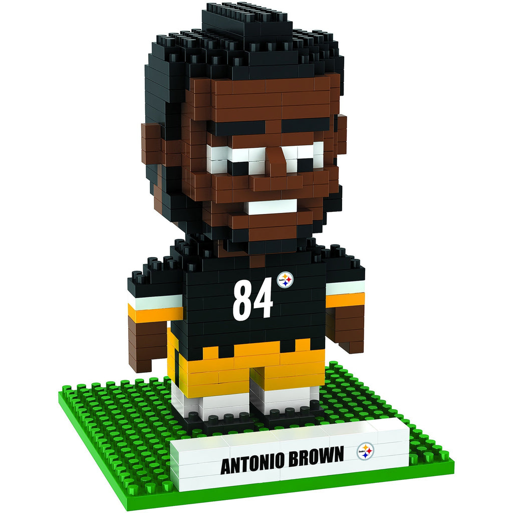 new product 2cba8 b6b8e NFL Pittsburgh Steelers Antonio Brown #84 BRXLZ 3-D Puzzle 395 Pieces