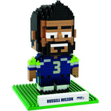 NFL Seattle Seahawks Russell Wilson #3 BRXLZ 3-D Puzzle 407 Pieces