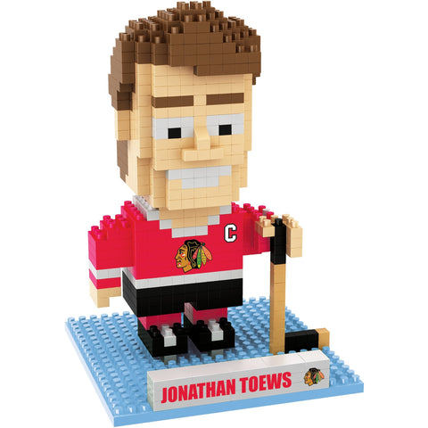 NHL Chicago Blackhawks Jonathan Toews #19 BRXLZ 3-D Puzzle 404 Pieces