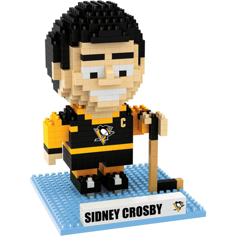 NHL Pittsburgh Penguins Sidney Crosby #87 BRXLZ 3-D Puzzle 423 Pieces