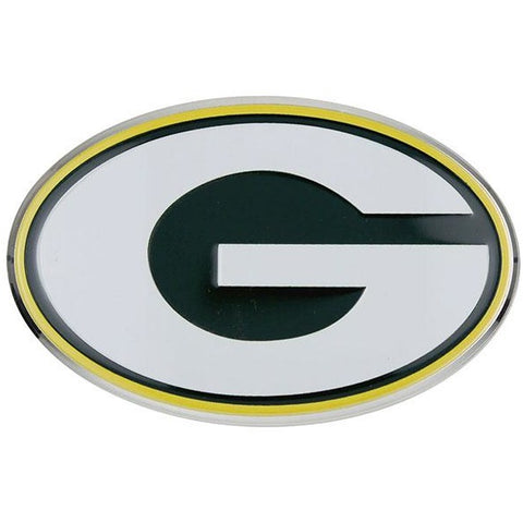 NFL Green Bay Packers 3-D Color Logo Auto Emblem By Team ProMark