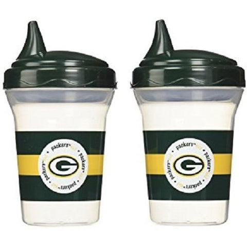 NFL Green Bay Packers Toddlers Sippy Cup 5 oz. 2-Pack by baby fanatic
