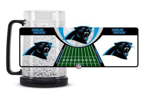 NFL Carolina Panthers 16oz Crystal Freezer Mug by Duck House